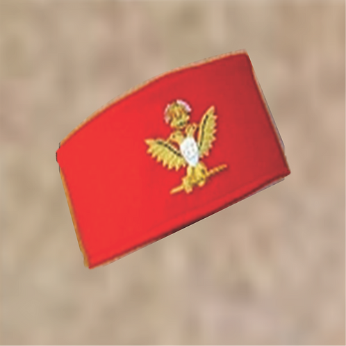 Scottish Rite Hat & Badge