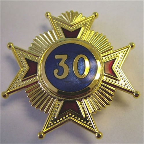 Australian Scottish Rite 30th Degree Brooch Jewel