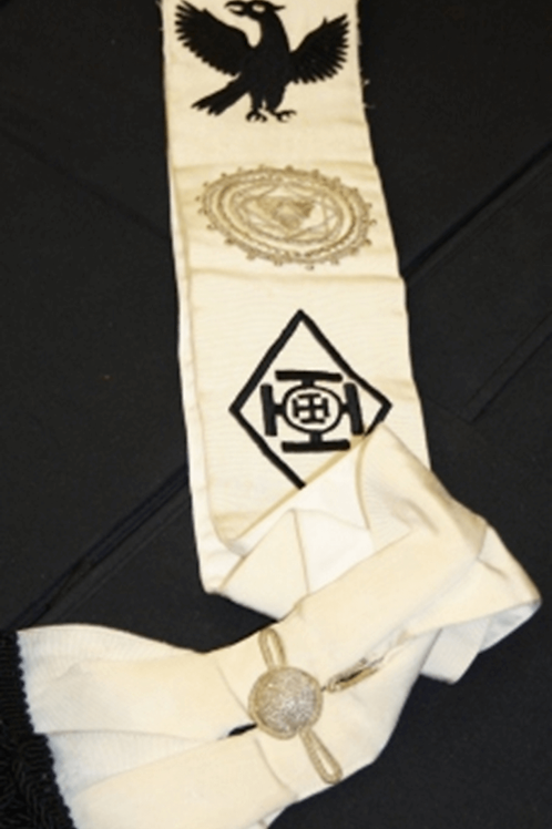 Red Cross of Constantine MW Sash