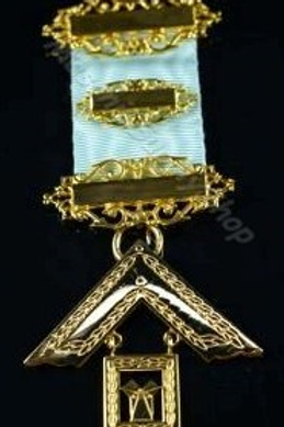 Craft Lodge Worshipful Master Jewel (High Quality)