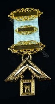 Craft Lodge Worshipful Master Jewel (High Quality)