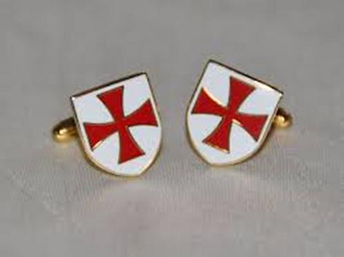 Knights Templar Cuff-Links