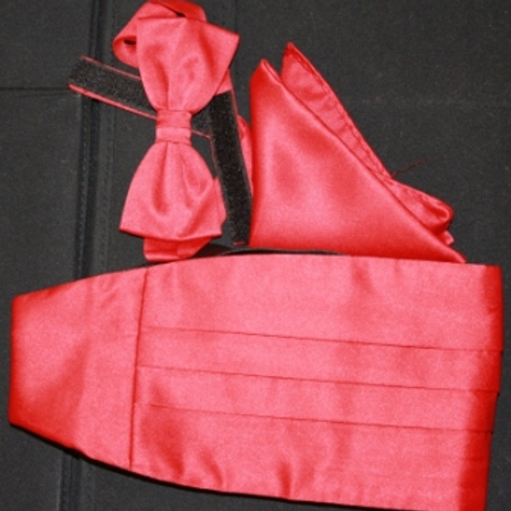 Red Cross of Constantine Cummerbund Set