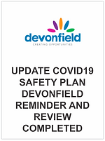Update COVID19 safety plan Devonfield -