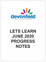 Lets Learn June 2020 - progress notes.pn