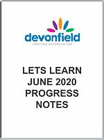 Lets Learn June 2020 - progress notes.pn