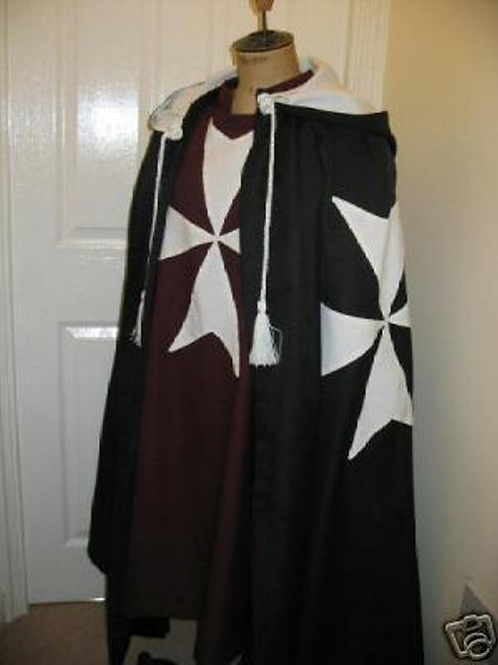 Knights of Malta Cloak and Manic