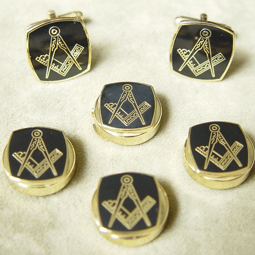 Craft Lodge Shirt Button Covers & Cufflinks