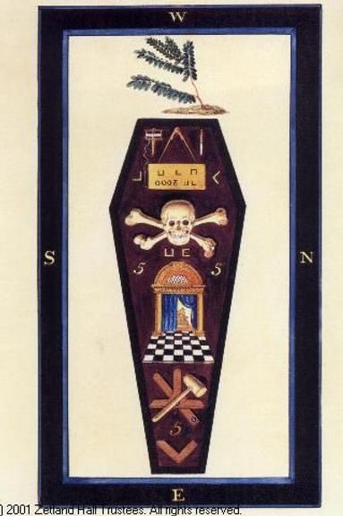 Craft Lodge 3rd Degree Grave