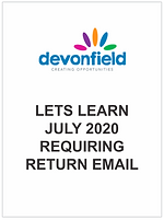 Lets Learn - July 2020 - requiring retur