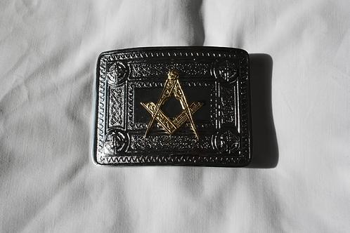 Masonic Scottish Highland Dress Belt Buckle