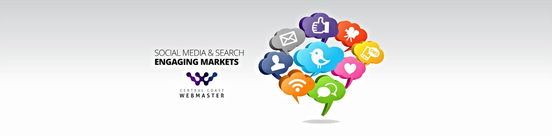 Central Coast Webmaster Social Media & Search