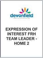 Expression Interest FRH Team Leader - ho