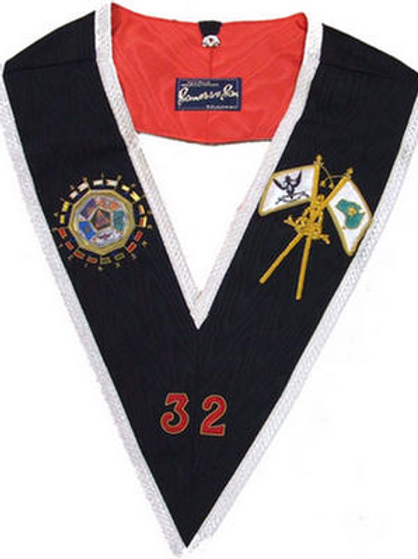 Scottish Rite 32nd Degree Collar