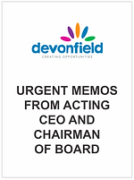 URGENT memos from Acting CEO and Chairma