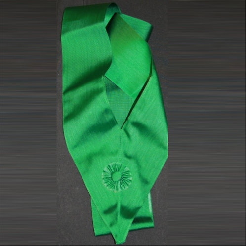 Royal Order of Scotland Green Sash