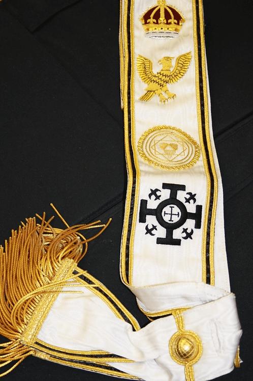 Red Cross of Constantine Grand Lodge Sash