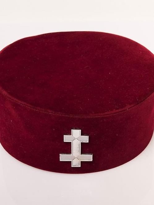Knights Templar Preceptors Hat & Badge