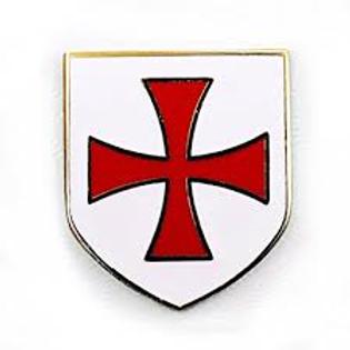 Knights Templar Lapel Pin