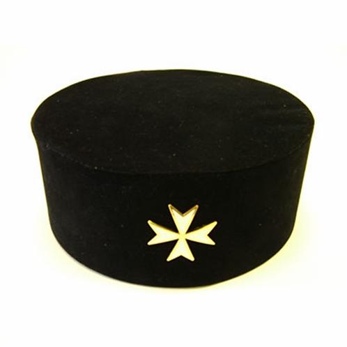 Knights of Malta Hat & Badge