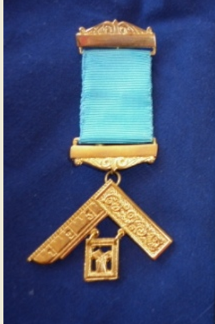 Craft Lodge Worshipful Master Breast Jewel Standard