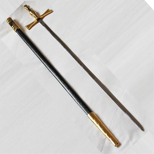 Masonic Sword with Black Scabbard