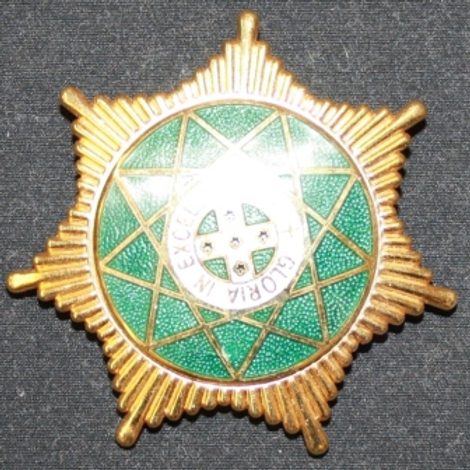 Royal Order of Scotland Breast Star Jewel