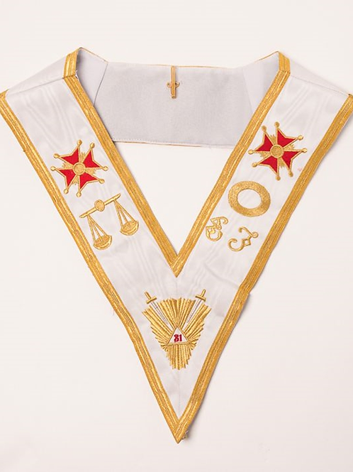 Scottish Rite 31st Degree Collar