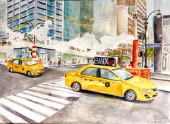 NYC crosswalk
