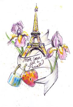 My heart is in Paris
