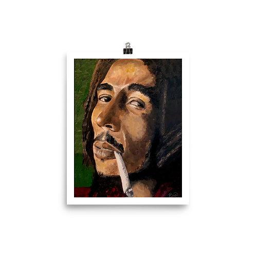 Bob Marley Matte Print