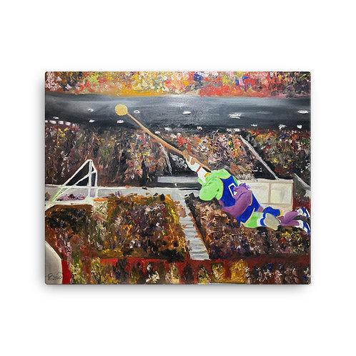 Space Jam Canvas Print