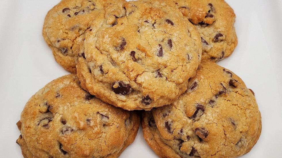 """Levain"" Style Chocolate Chip Cookies (5 cookies)"