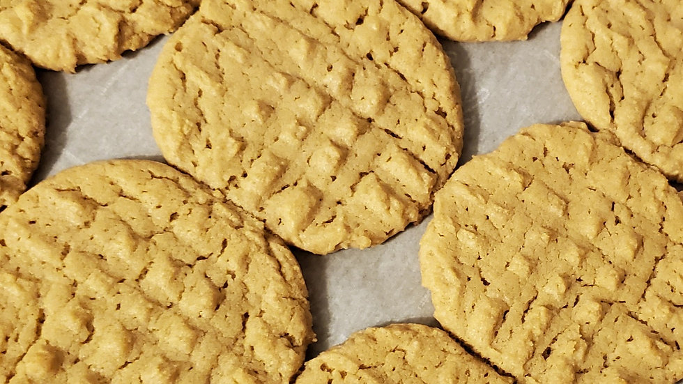 Peanut Butter Cookies (dozen)