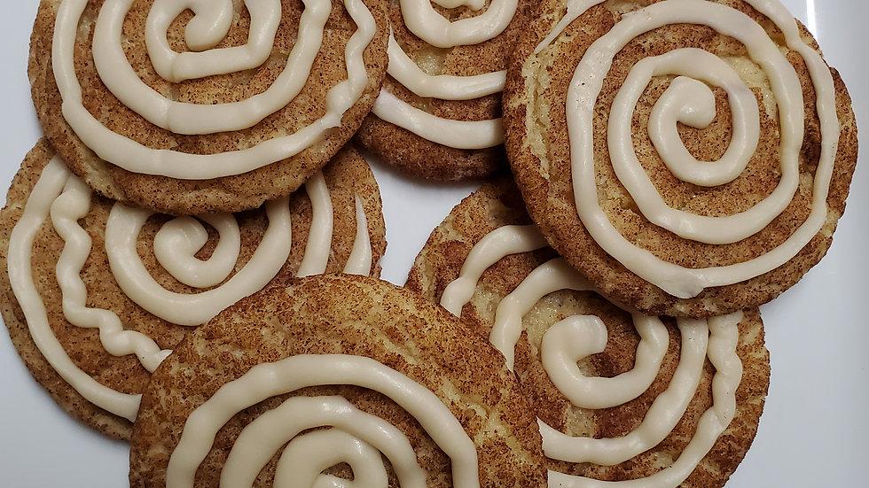 Cinnamon Roll Snickerdoodles (dozen)