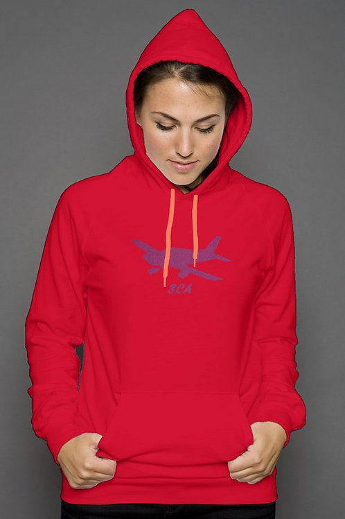 sca red hoody