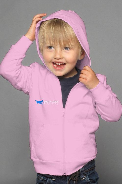 sca pink kids hoody