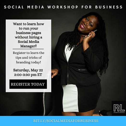 RLE Social Media Workshop-For Business1.