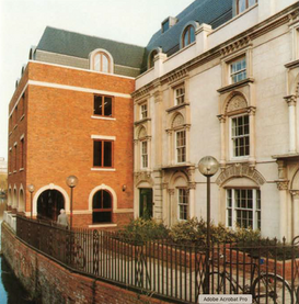 Redevelopment of listed building, County & District Properties Ltd, Reading