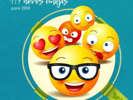 Emojipedia anuncia 117 novos emojis para 2020