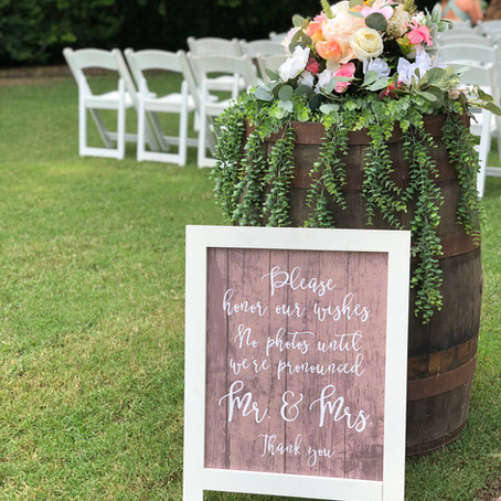 Wedding Planning Is Not for the Weak!