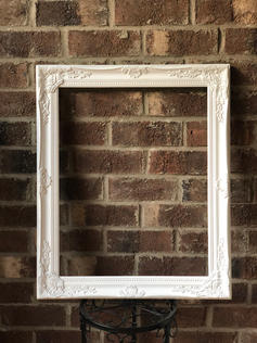 Large White Frame