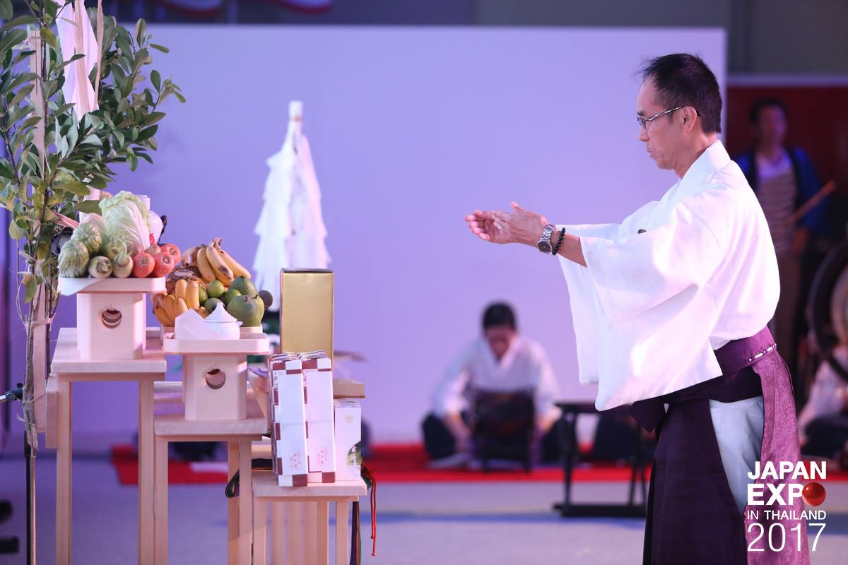 Japanese Worship Ceremony