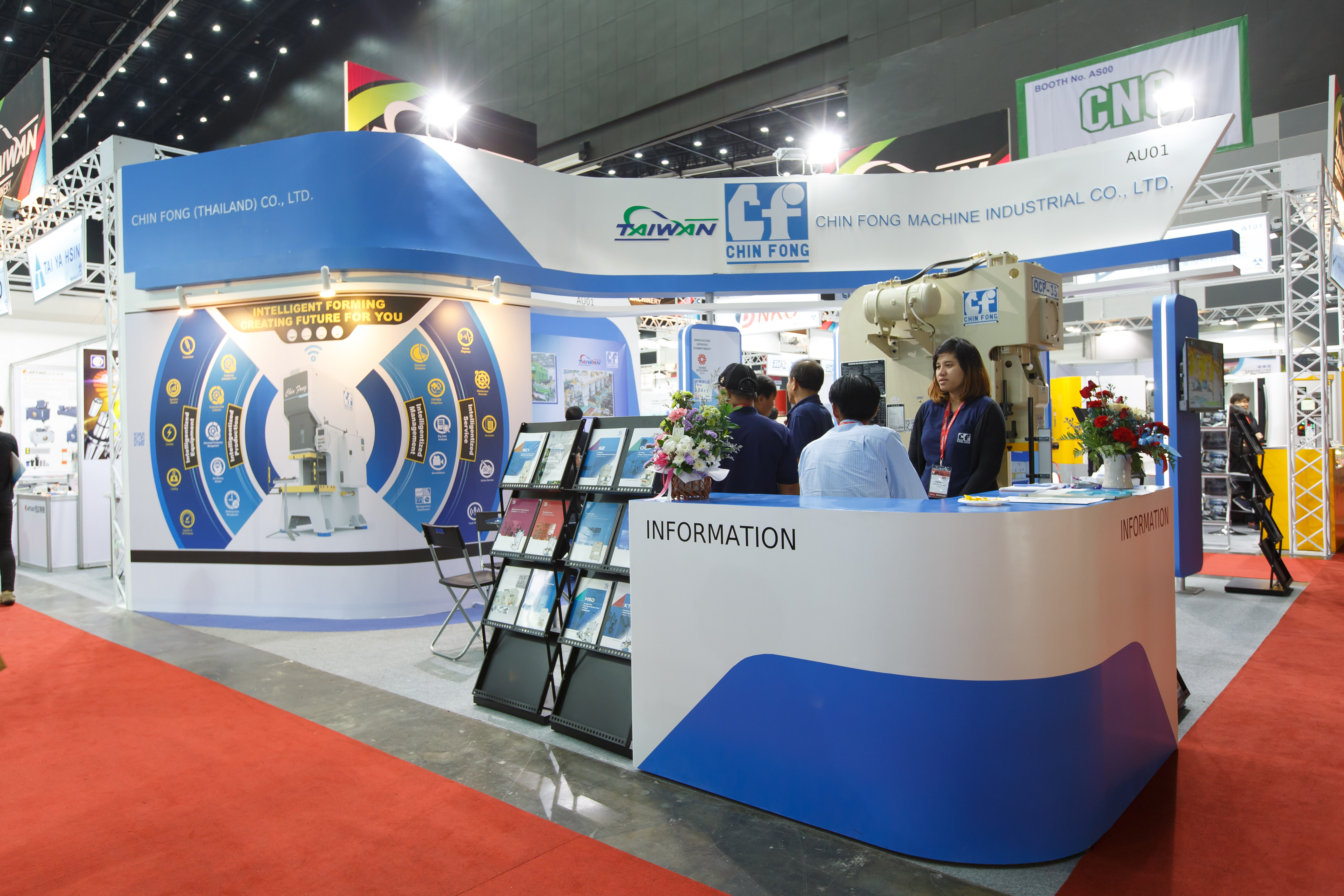 Booth Design & fabrication