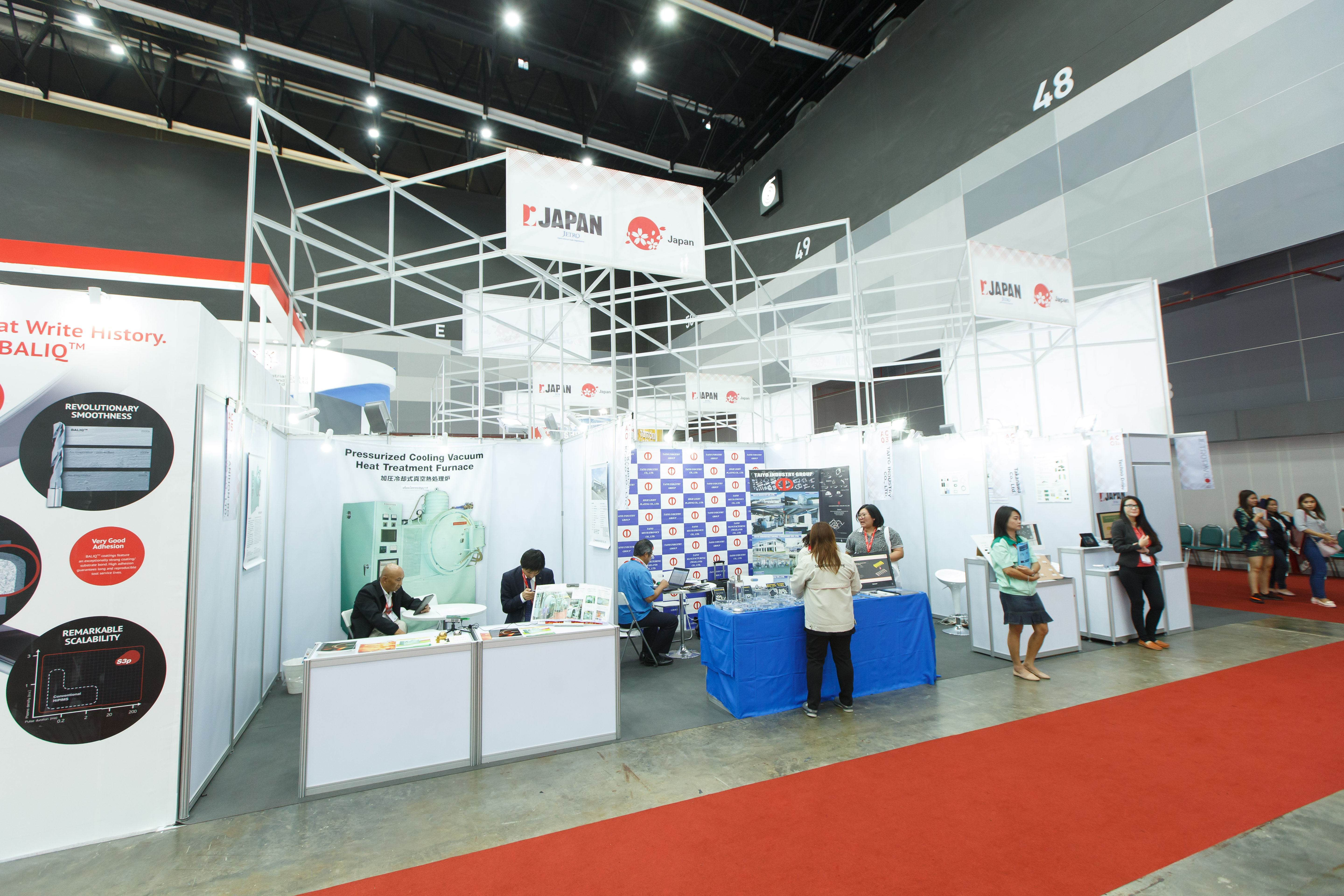 Japan Country Pavilion @Metalex 2017