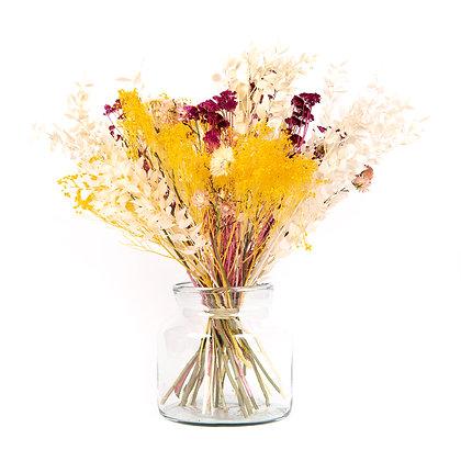 Bouquet de Fleurs séchées - Ruscus XL - Jaune d'Or