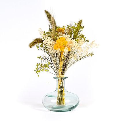 Vase de Fleurs séchées  - Setaria S - Vert Prairie