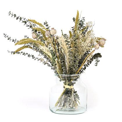 Bouquet de Fleurs séchées - Eucalyptus Vert Bleuté