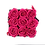 Thumbnail: PLUS 9 ETERNAL ROSES - FUCHSIA PEPS - BLACK SQUARE BOX