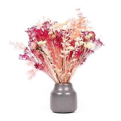 Bouquet de Fleurs séchées  - Ruscus L - Fuchsia Peps